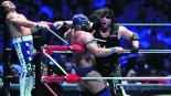 Ciber the Main Man, derrota, Último Guerrero, revancha, lucha libre