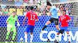 Uruguay gana 1-0 Chile Capo América