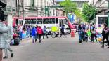 Comerciantes ambulantes informales bloqueo Toluca