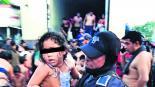 Detienen migrantes Tráiler abandonado Veracruz