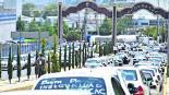 Taxistas en protesta Cierran vialidad Edomex Toluca Alcaldesa escapa