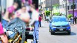 Automovilista armado rafaguea a policías para evitar detención en Iztacalco