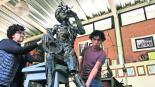 traviata escultura resanan obra encontrada basura toluca