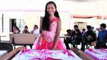 adolescente joven migrante festeja XV años fiesta guatemala