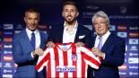 Héctor Herrera fue presentado con el Atlético de Madrid