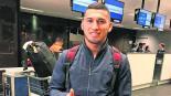 Juan Escobar llega listo a Cruz Azul para trabajos de pretemporada