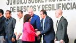 Cuauhtémoc Blanco apoyará a Protección Civil en caso de desastres naturales