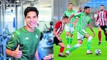 Diego Lainez destaca en amistoso del Real Betis ante Sheffield United