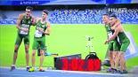 carrera relevo equipo méxico medall oro universidad