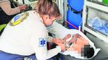 Auxilian a niño de 7 años tras ser mordido por víbora de cascabel en Ocuilan