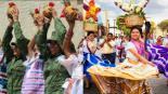 Guelaguetza militares bailan  Flor de Piña Santo Domingo Oaxaca Ejército Mexicano Tuxtepec Paulina Solís Cuenca del Papaloapan