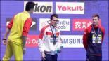 El nadador chino que se burla de sus rivales derrotados