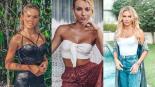 Irina Baeva lleva al paraíso a los internautas con infartante bikini