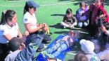 brindan curso de protección civil para niños en Edomex
