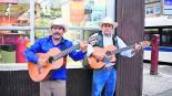 Nueva York Los Gallos de Oro Evaristo Colín Martín Estrada cantautores Brenda Cruz feminicidio