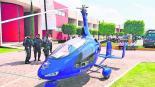 Girocópteros Valle de Chalco aeronave Sky DLS Francisco Tenorio Contreras