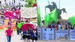 Campesinos marcha Andrés Manuel López Obrador