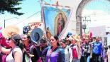 peregrinacion femenina edomex