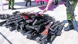Sedena destruye 233 armas en Edomex algunas fueron usadas para cometer crímenes