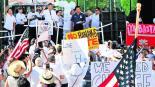 manifestantes rechazan odio a latinos supremacía blanca donald trump racismo texas estados unidos