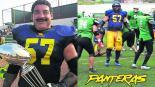 mario martínez líder jugador ejemplar futbol americano panteras de cuernavaca