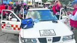 mujer entra labor de parto no llegó al hospital sala de parto da a luz taxi zinacantepec