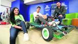 jóvenes estudiantes robótica talleres niños síndome de down gokarts toluca