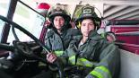hermanas de fuego bomberas jóvenes de toluca