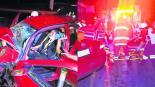 Accidente carretero autopista Toluca-Temascaltepec
