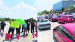 bloqueo paso express cuernavaca morelos manifestantes tangas
