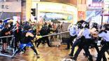 Policía de Hong Kong busca justificar disparos en protesta por extrema violencia