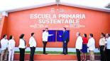 Cuauhtémoc Blanco reinaugura escuela afectada por 19S en Ayala Morelos