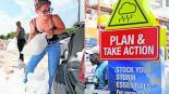 Declaran estado de emergencia en EU por huracán Dorian
