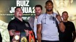 Todo listo para la pelea entre Andy Ruiz y Anthony Joshua