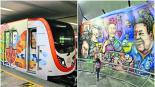 metro stc metro espacios arte artistas músicos pintura esculturas literatura