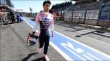 Sergio Pérez se accidentó en un entrenamiento en Italia
