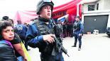 Toluca 50 por ciento de policías, no son aptos para usar armas de fuego