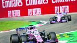 Sergio Pérez Gran Premio de Italia Fórmula 1