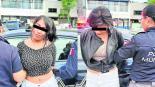 apañan mujeres cristalazos robo autopartes Toluca