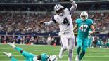 Cowboys aplasta a los Dolphins