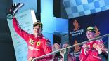 Sebastian Vettel Gran Premio de Singapur Fórmula Uno