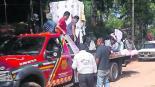 pirotecnia explosión procesión religiosa Valle de Bravo