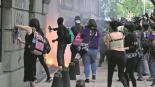 feministas violencia agreden