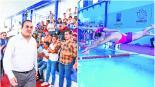 cuauhtemoc blanco inaugura alberca semi olímpica unidad deportiva centenario de cuernavaca morelos