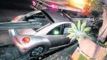accidente automovilístico hombre ileso choque barras metálicas milagro