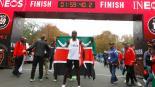 Eliud Kipchoge termina Maratón en menos de dos horas