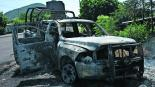 filtran audio policías emboscados muertos asesinato cjng michoacán