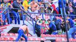 bronca pelea barras san luis querétaro seguridad estadio castigo
