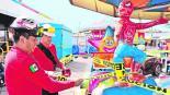 juegos feria de chapultepec sin mantenimiento accidente clausurada protección civil quimera