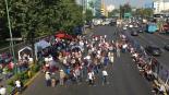 trabajadores de pemex bloquean avenida nacional petroleos mexicanos AMLO